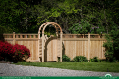 eastern-white-cedar-wood-privacy-fence-and-arbor